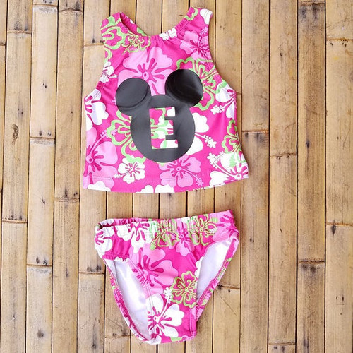 Personalized Mickey Mouse Swimsuit