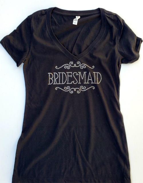 Bridesmaid Rhinestone Shirt