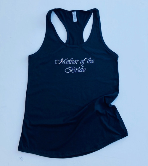 Mother of the Bride Rhinestone Tank Top