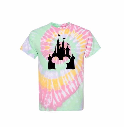 Magic Kingdom Tie Dye Shirts