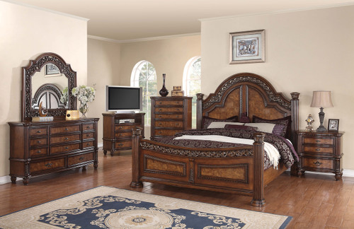 Ceasar Queen Bedroom 5 pc. set