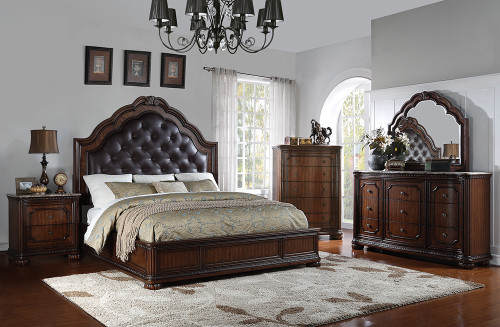 St Claire Queen Bedroom Set (5 pc. )