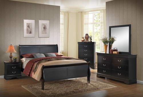 Louis Philippe 5 Pc. Queen Bedroom Set