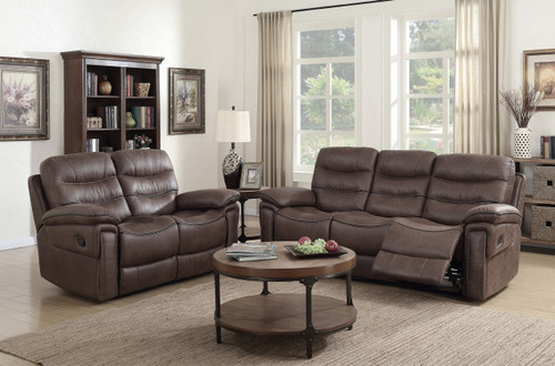 MORGAN SOFA AND LOVESEAT RECLINER