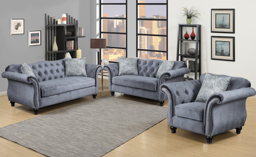 VICTORIA SOFA AND LOVESEAT