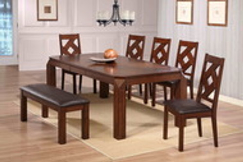 DIAMOND 5PC RECTANGULAR DINING SET