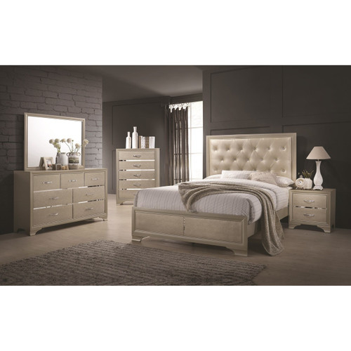 BEAUMONT 4PC QUEEN BEDROOM SET