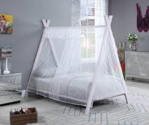 Fultonville metal tent bed