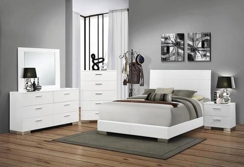 Felicity queen bed