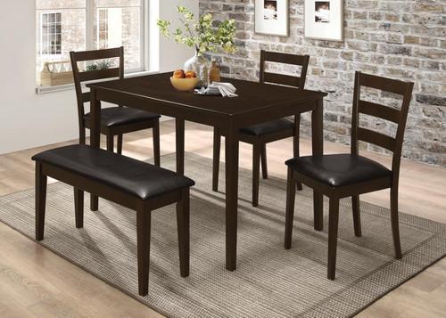 5 PC. table set cappuccino