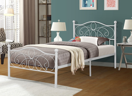 SOPHIA TWIN METAL BED