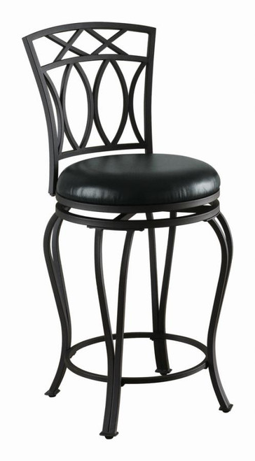 Swivel Counter height Stool(black)