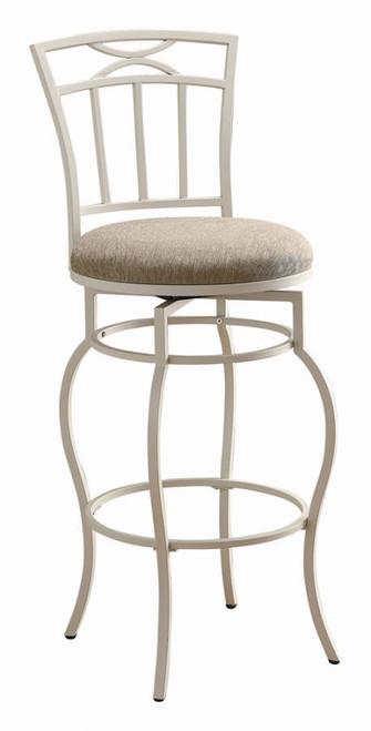 Swivel bar stool (beige)