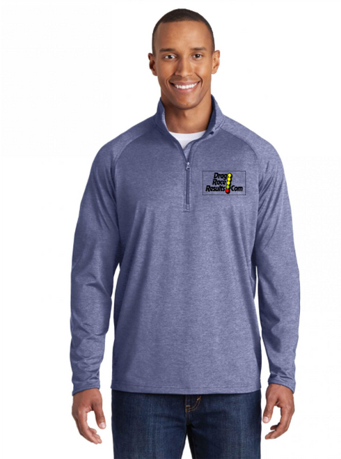 drr navy heather sport-tek pullover
