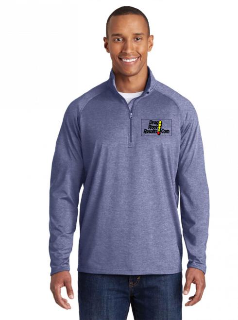 drr navy heather sport-tek pullover