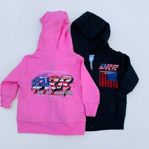 DRR Toddler Hoodies - USA Theme