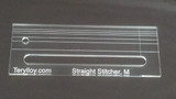 """1/4"""" Quilting Template, Straight Stitcher / Slotted Ruler, M, No Opening"""