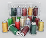 "Glide Thread ""Christmas"" Collection of 10 Spools"