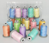 "Glide Thread ""Pastel"" Collection of 10 Spools"