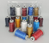 """Glide Thread """"4th of July"""" Collection of 10 Spools"""