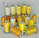 "Glide Thread ""Bag of Yellows"" Collection x 10 Spools"