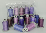 "Glide Thread ""Bag of Purples"" Collection x 10 Spools"