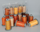 "Glide Thread ""Bag of Oranges"" Collection x 10 Spools"