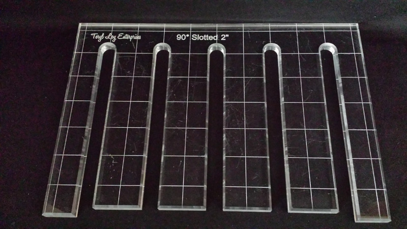 90 degree Slotted Template