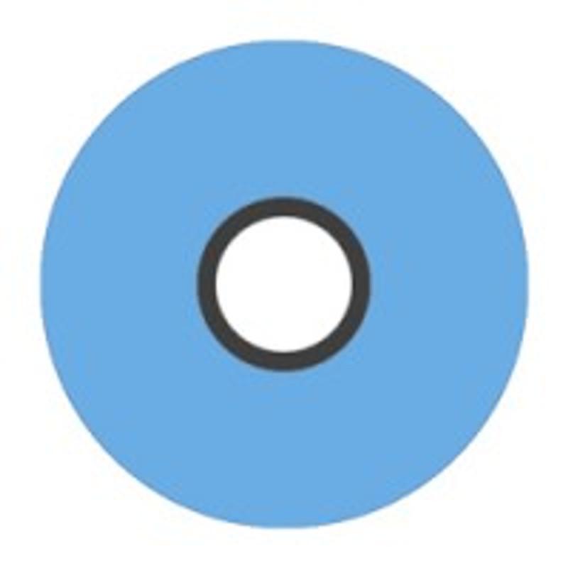 Magna-Glide 'L' Bobbins, Jar of 20, 30284 Hawaiian Blue