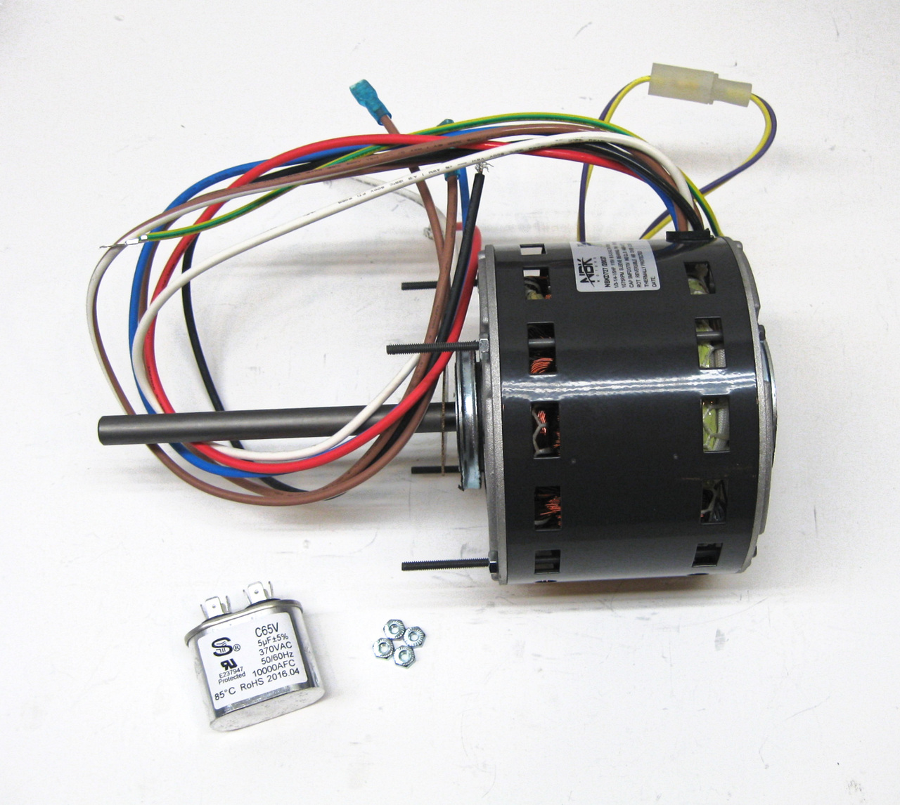 Blower Motor and Capacitor | McCombs Supply Co | PCD727McCombs Supply