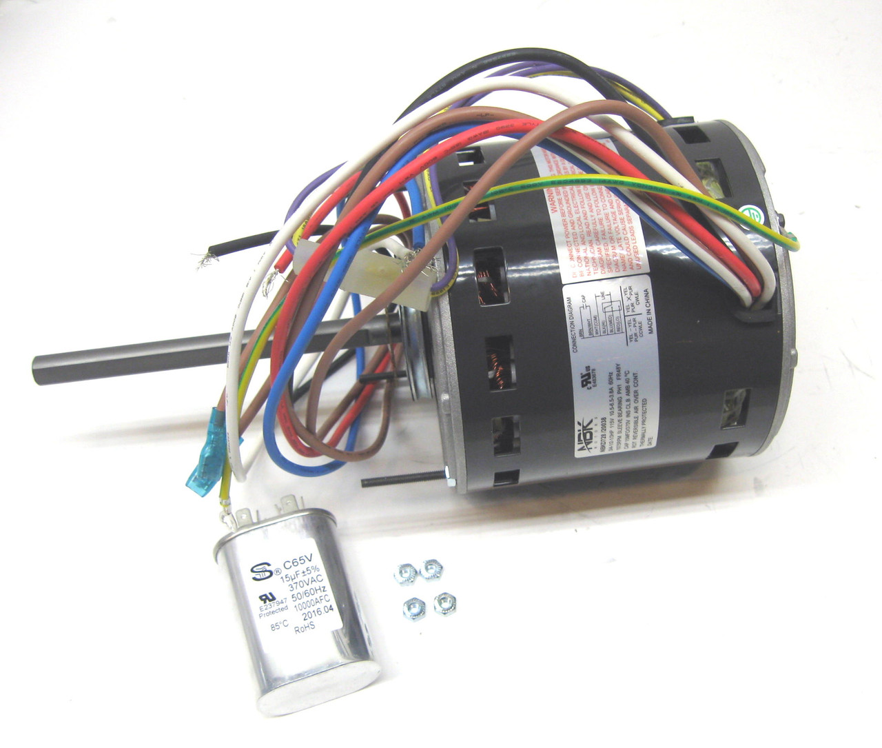 Blower Motor and Capacitor | McCombs Supply Co | PCD728McCombs Supply