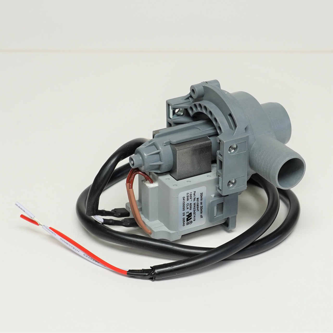 Washing Machine Drain Pump for GE   McCombs Supply Co   WH23X27419   Ge Washing Machine Pump Wiring      McCombs Supply