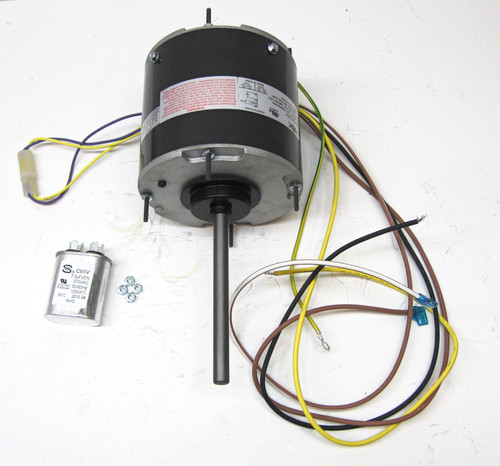 ac condenser fan motor and capacitor | mccombs supply co | pcd7908  mccombs supply