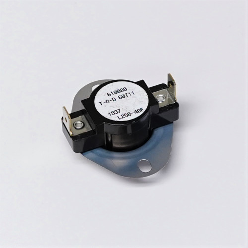 ERP Furnace Single Pole Snap Disc Limit Switch Control Open at 250 L250 L250-40F
