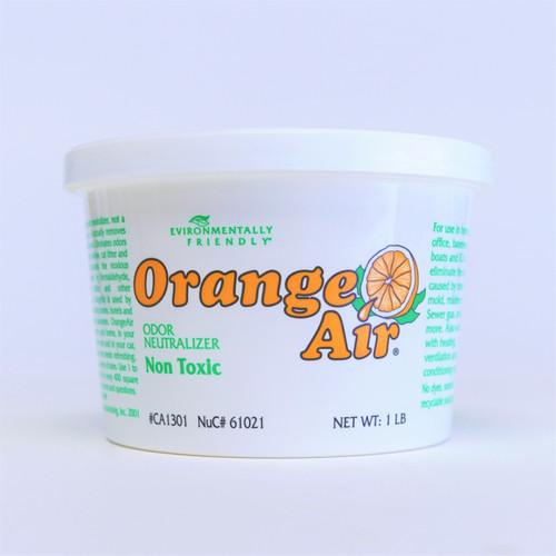 4 Pack 61021 Nu-Calgon ClenAir Orange Air Clenair 1 Lb Tub Odor Neutralizer