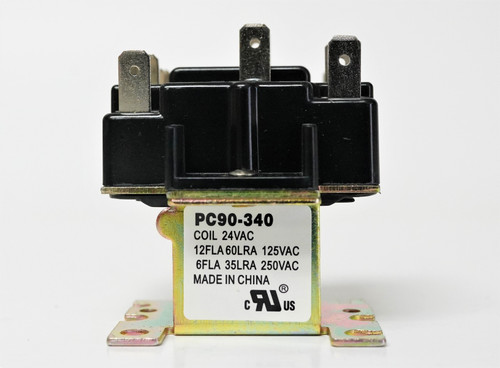 AAON /• 90-340 Replacement Heavy Duty Switching Fan Relay DPDT 24 VAC Coil