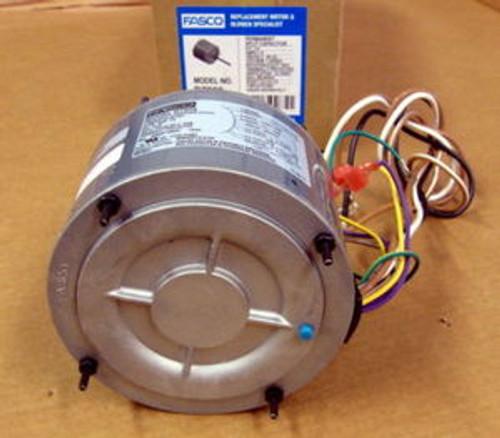 d7909 fasco 1 4 hp 1075 rpm air conditioner heat pump condenser fan motor tenv  fasco condenser fan motor wiring #9
