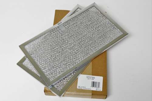 GE WB2X2052 Replacement Aluminum Hood Vent And Microwave Filter 4 Filters Standard Plumbing Supply