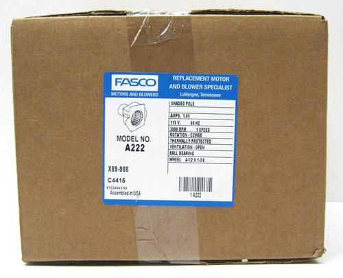 026-32067-700 Fasco A222 Specific Purpose Blowers York 7021-8317
