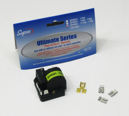 SUPCO URO81 Ultimate Universal Relay Overload 115v for sale online