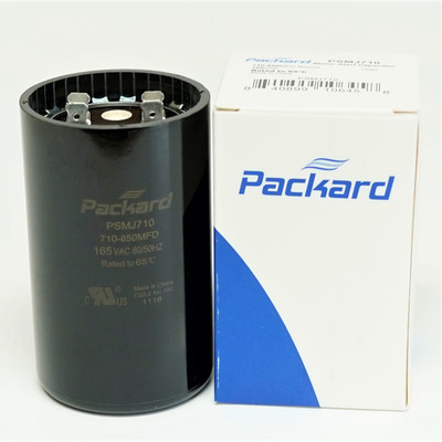 PACK 710-848 UF MFD HVAC Motor Start Capacitors 165 VAC VOLT /& Resistors 2