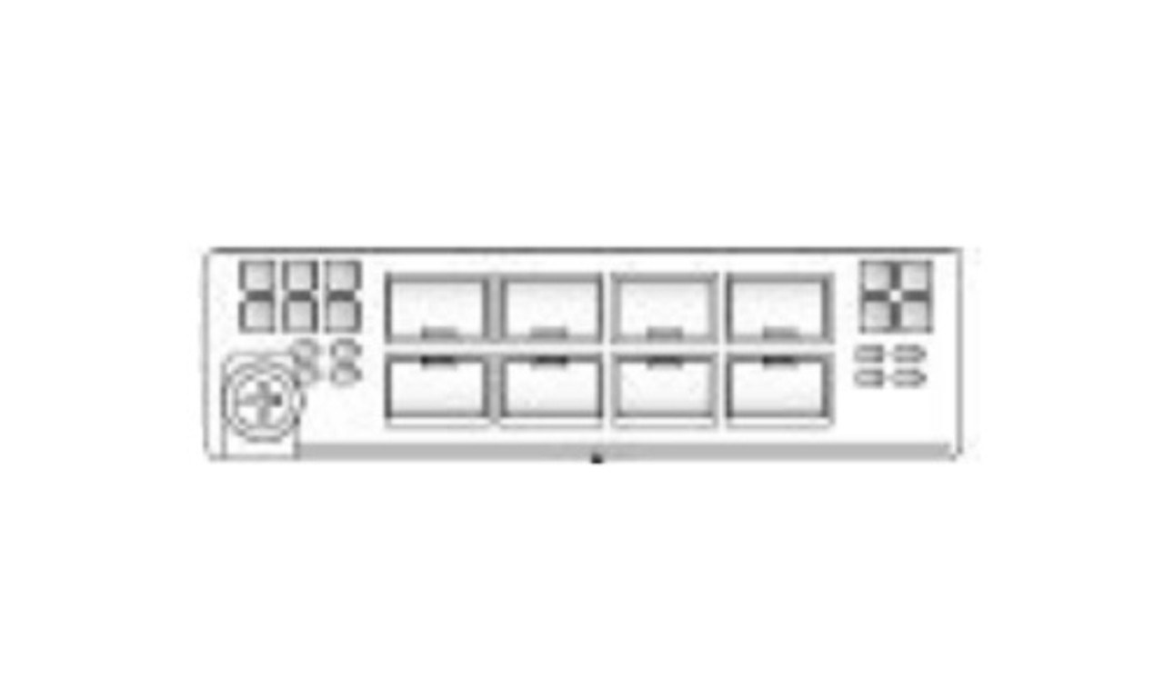 FPR2K-NM-8X10G Cisco FirePOWER 2000 SFP+ Network Module - Refurbished