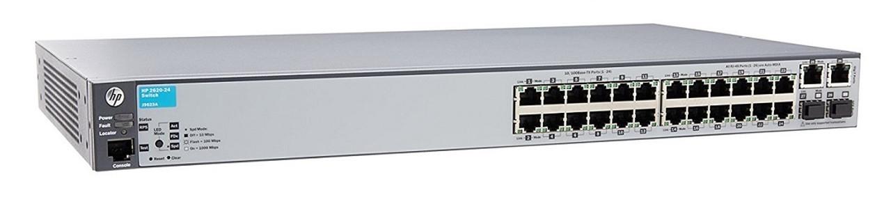 J9623A HP Aruba 2620-24 Switch - Refurbished
