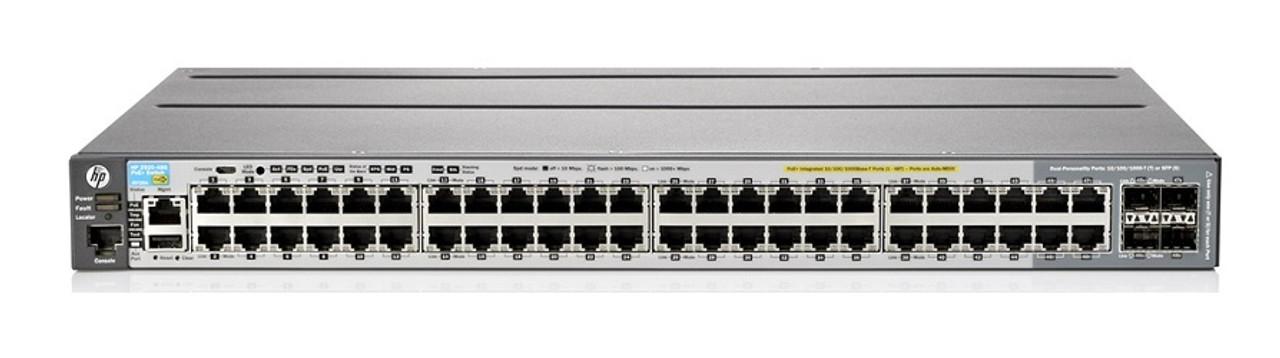 J9772A HP Aruba 2530-48G-PoE+ Switch - Refurbished