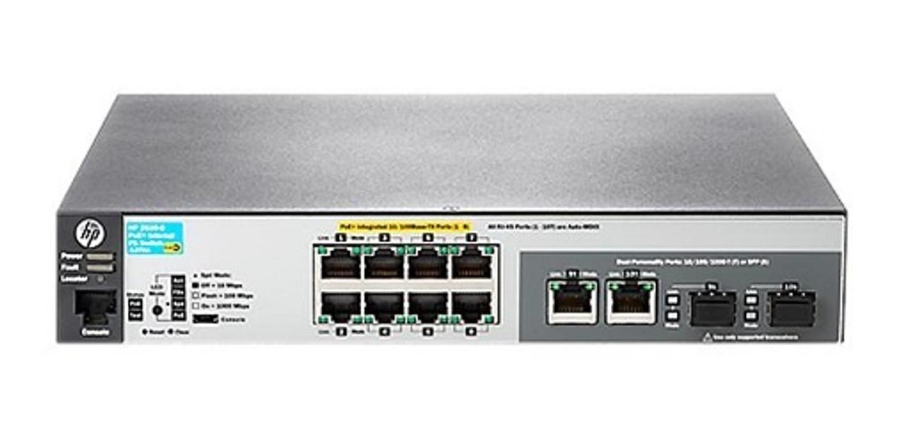 J9780A HP Aruba 2530-8-PoE+ Switch - Refurbished