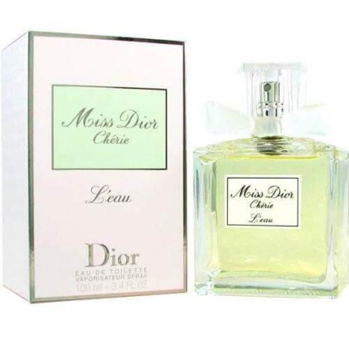 Miss Dior Cherie L'eau Eau de Toilette 3.4 oz Spray