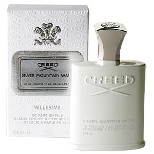 No Box - Creed Silver Mountain Water For Men 4 oz Spray