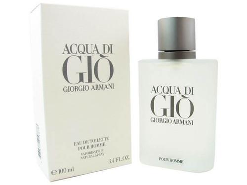 Open Box - Acqua Di Gio Eau de Toilette For Men 3.4 oz Spray