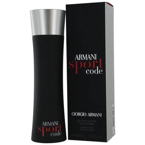Armani Sport Code For Men Eau de Toilette 2.5 oz Spray - Final Sale Item