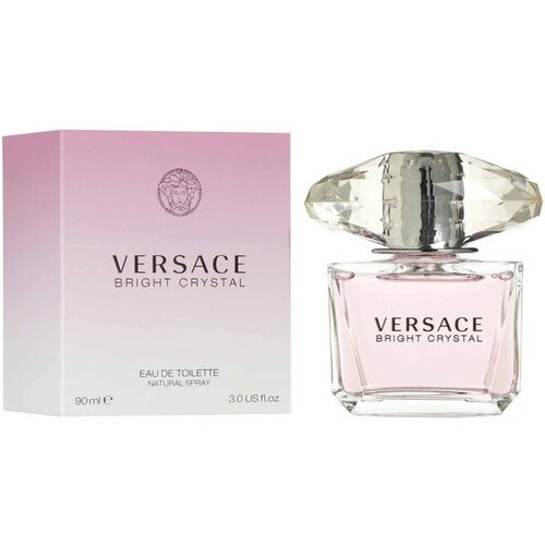 Versace Bright Crystal 3 oz Eau de Toilette